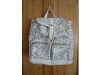 Large Animal Print Backpack/School Bag