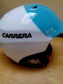 Kids ski helmet suitable age 3-5, carerra size xxs 49-52