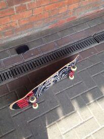 Skateboard+new bearings