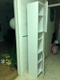 White Ikea tall wardrobe cabinet for sale