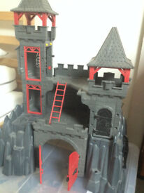 Playmobil Rock castle set 3269 and lots of extras!