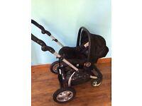OBaby Zezu Sport Pram / Buggy + car seat