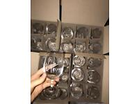 42 Virgin wine glasses NEW
