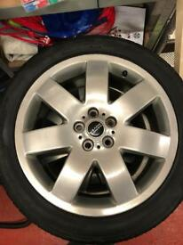 """20"""" Range Rover Wheels and spacers for VW T5"""