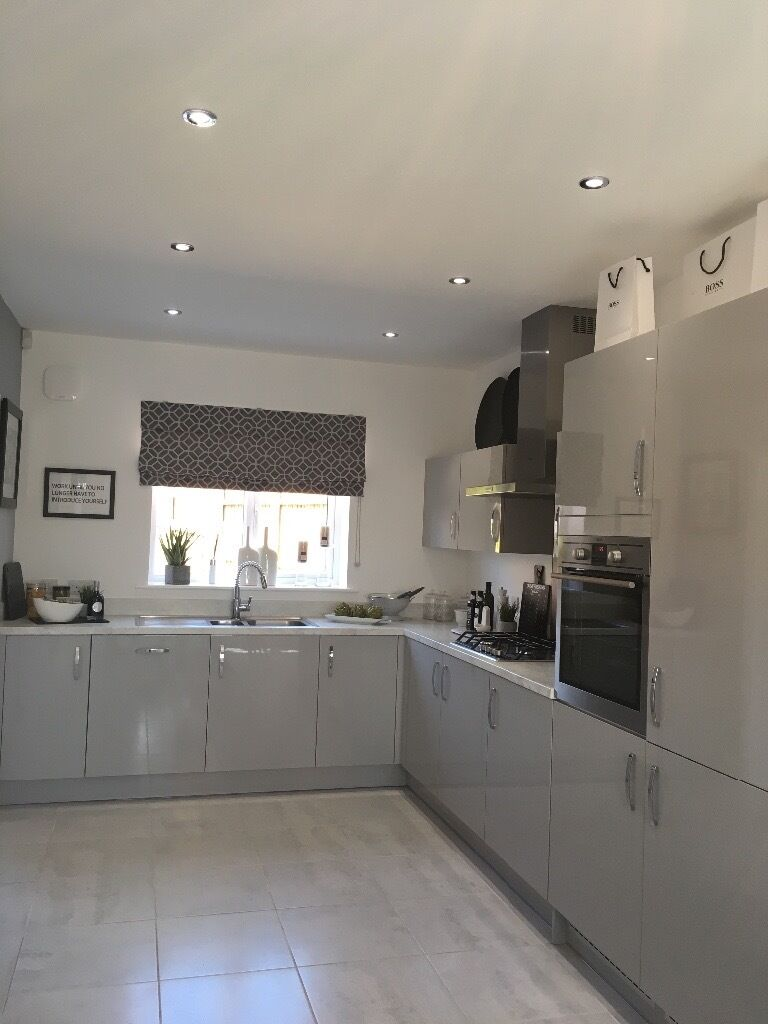 Brand New Symphony Kitchen And Utility Cupbards In