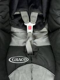 Graco car seat with iso fix