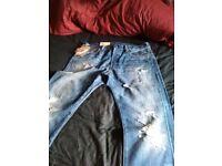 original ralph lauren jeans and shirt