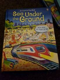 usborne books 3 pounds each or all for 10 pounds