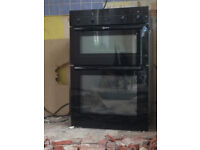 Used: Neff Electric double oven. Model number U1442 SO GB