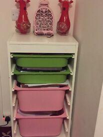Ikea white drawer