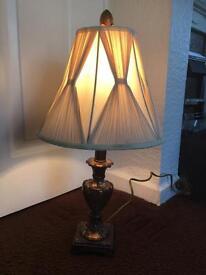 Beautiful decorative table lamp and shade
