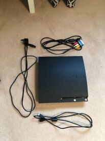PS3 Slim 120G + Games