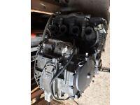 Suzuki GSXR750WN engine carbs electrics