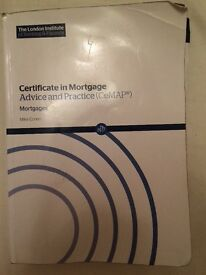 CEMAP module 2 (Mortgages) book + 2 mock exams (A&B) for Tax Year 2016-17