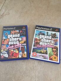 PS2 Grand Theft Auto games x2