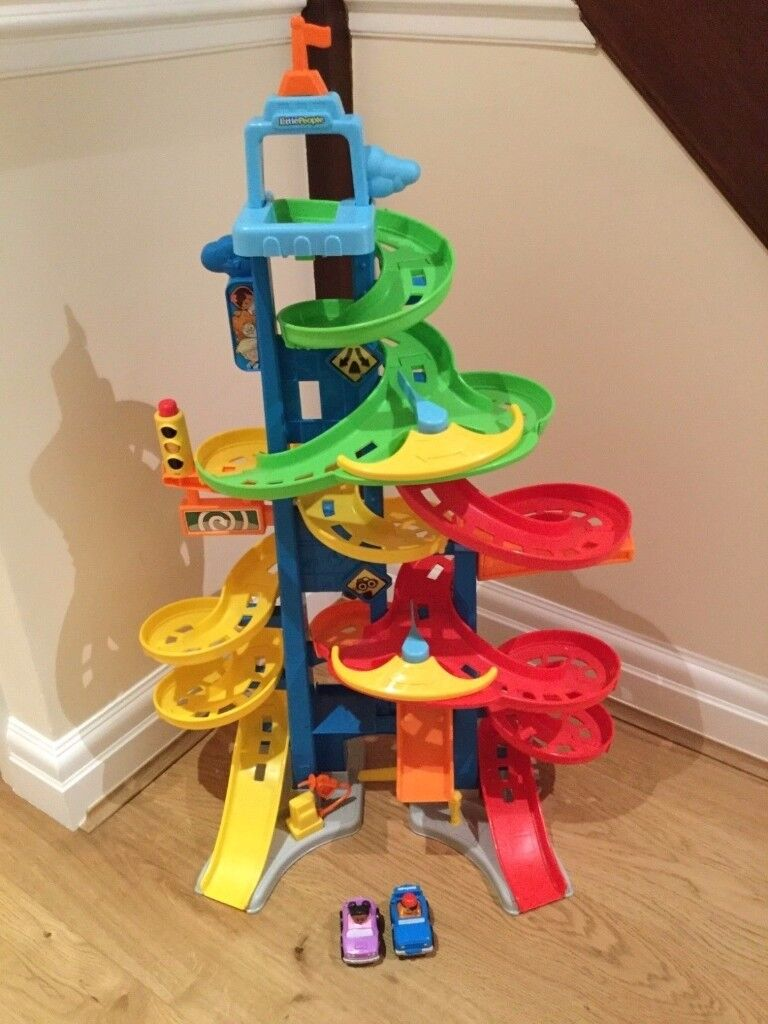 Fisher Price City Skyway Cars