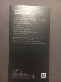 Samsung s8 SEALED