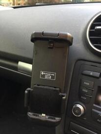 Audi iPhone 6 Phone preparation cradle.