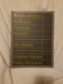 An Introduction to Global Financial Markets (8th Ed.) by Valdez and Molyneux