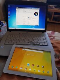 Laptop acer Tablet Acer