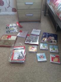 Christmas cards (over 100)