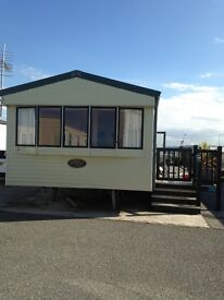 Static caravan for sale 8berth Westmorland sited on golden sand