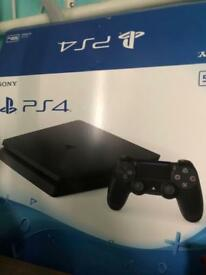 PS4 500gb console with battlefield 1