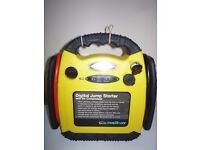 Jumpstarter With Digital Compressor 500A Cranking Power LED Battery Indicator