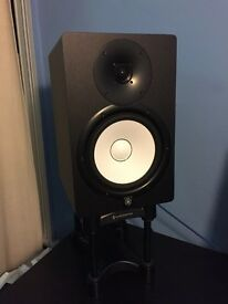 Yamaha HS8 Speakers + IsoAcoustics ISO L8R Stands