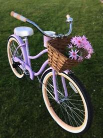 Rare ladies USA import Huffy beach cruiser bike