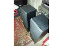 JAMO FLOOR STANDING BIG SPEAKERS 170 WATTS EACH..CAN DELIVER FOR PETROL MONEY.OR COLLECTION FROM E6