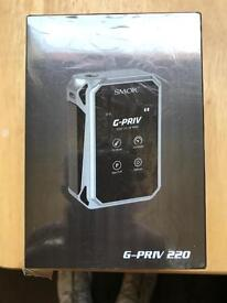 Smok G-Priv 220 w/ with Tank Batteries and Battery Charger if needed