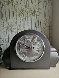 Vintage upcycled clock Fornasetti style