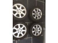 "Mercedes 16"" Alloys * 4 With Tyre's Only £50 For The Set"