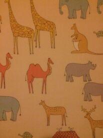 Chid's blackout bedroom blind - Noah's Arc Animals