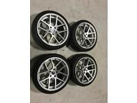 """19"""" Bmw alloys and tyres"""