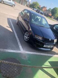Fabia full vrs spec pd100 200bhp cheap to insure