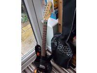 Encore Electric Guitar and carry case