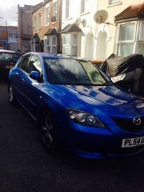 Blue Mazda 3 Quick Sale
