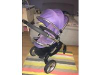 Icandy I candy peach 2 Parma violet Pram pushchair
