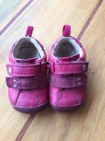 Girls Clark shoes