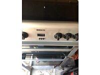 "Beko Fan assesited 60"" electric cooker"