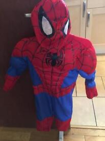 Spider-Man costume 3 years