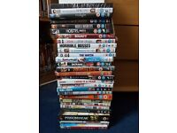 Selection of dvds free collection only