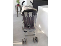 MACLAREN TECHNO XT CHARCOAL GREY WITH COSY TOES AND RAIN COVER FROM BIRTH BUGGY PRAM PUSHCHAIR
