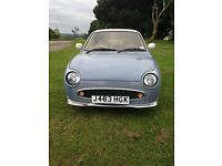 Nissan Figaro, REDUCED for quick sale, lapis grey, auto, turbo, convertible, reliable, in daily use
