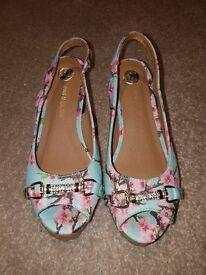 Girls River island size 1 shoes