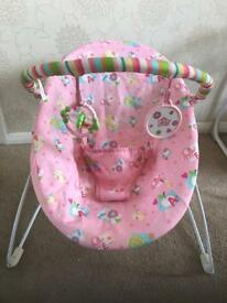 Bright Stars Vibrating Baby Bouncer