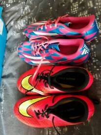 Size 5.5 and 6 football boots