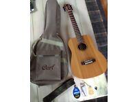 Acoustic Guitar Cort Mini Earth OP Acoustic GUITAR as new
